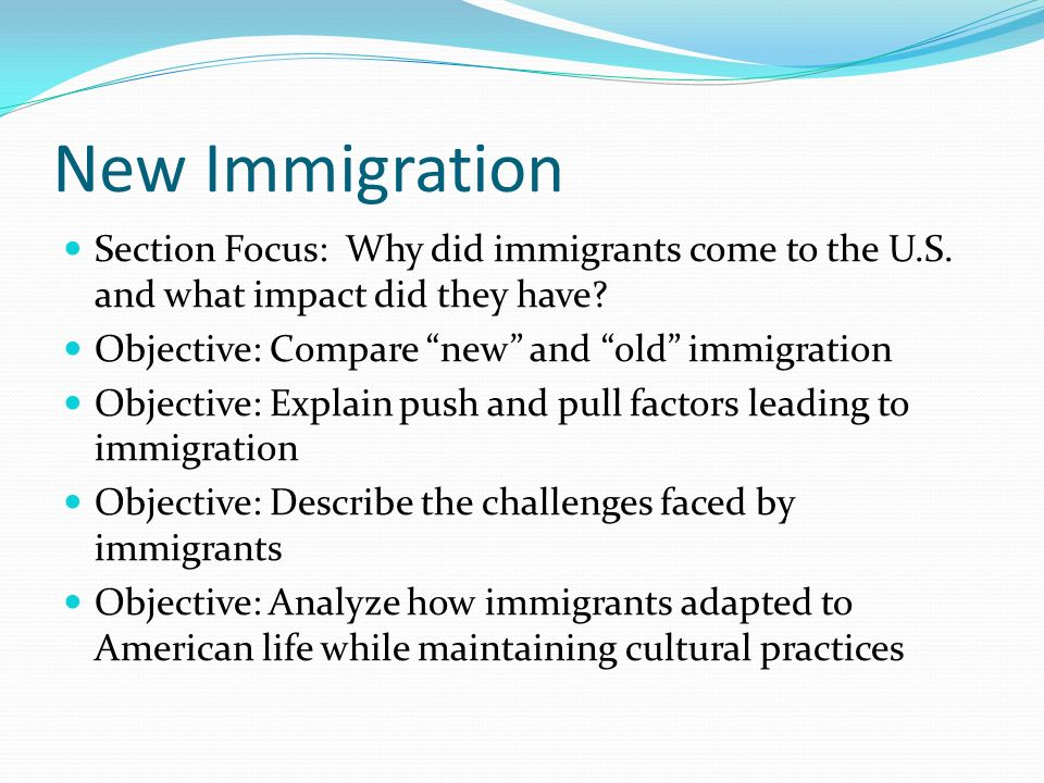 challenges faced by new immigrants