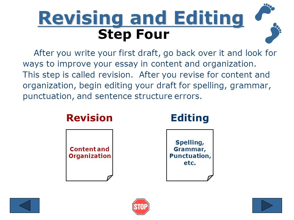 Steps on writing an essay?