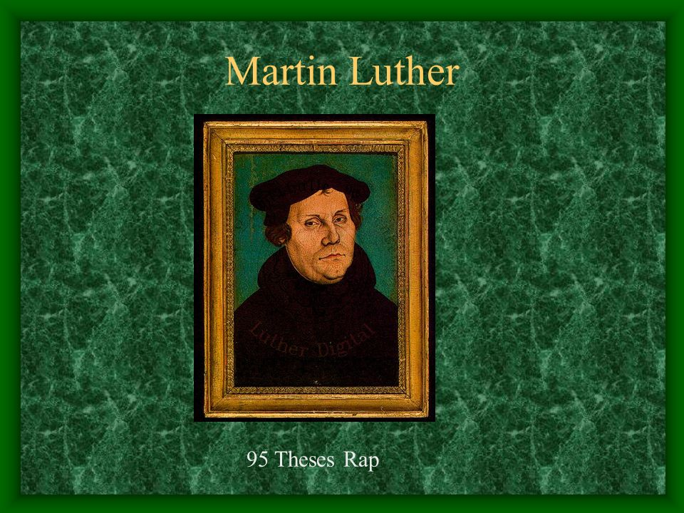95 theses rap answers