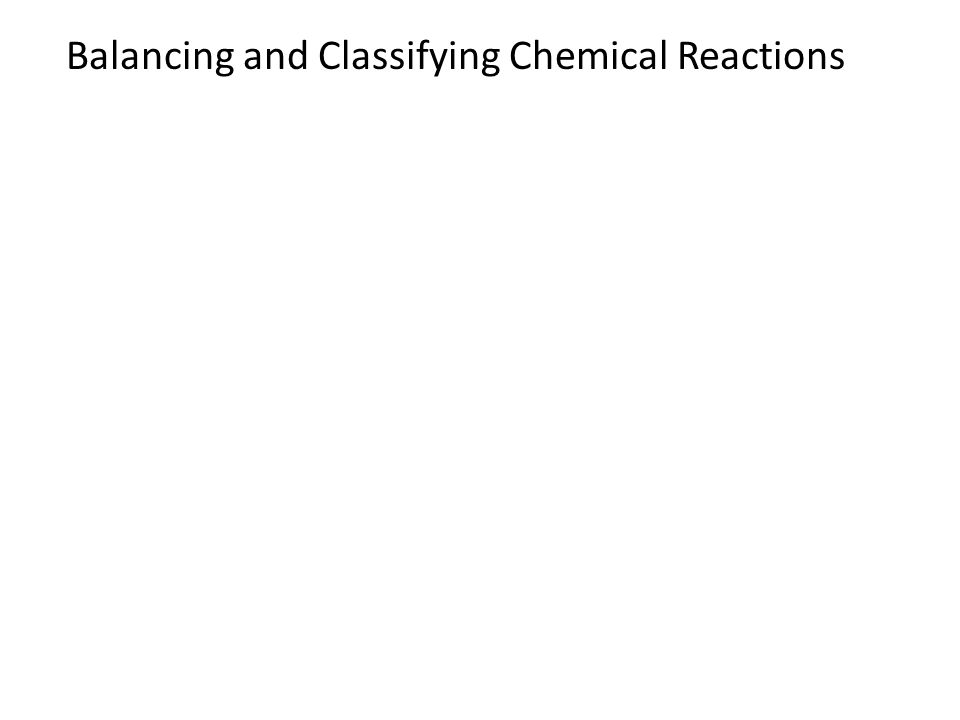 Chemical Reactions. Chemistry (2/25) Acid/Base Quiz Interpreting ...