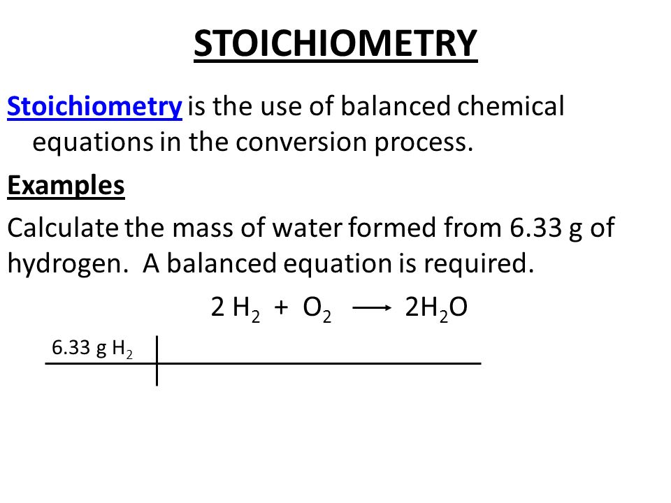Chapter 9 Chemical Quantities STOICHIOMETRY Stoichiometry is the – Chemical Equations and Stoichiometry Worksheet