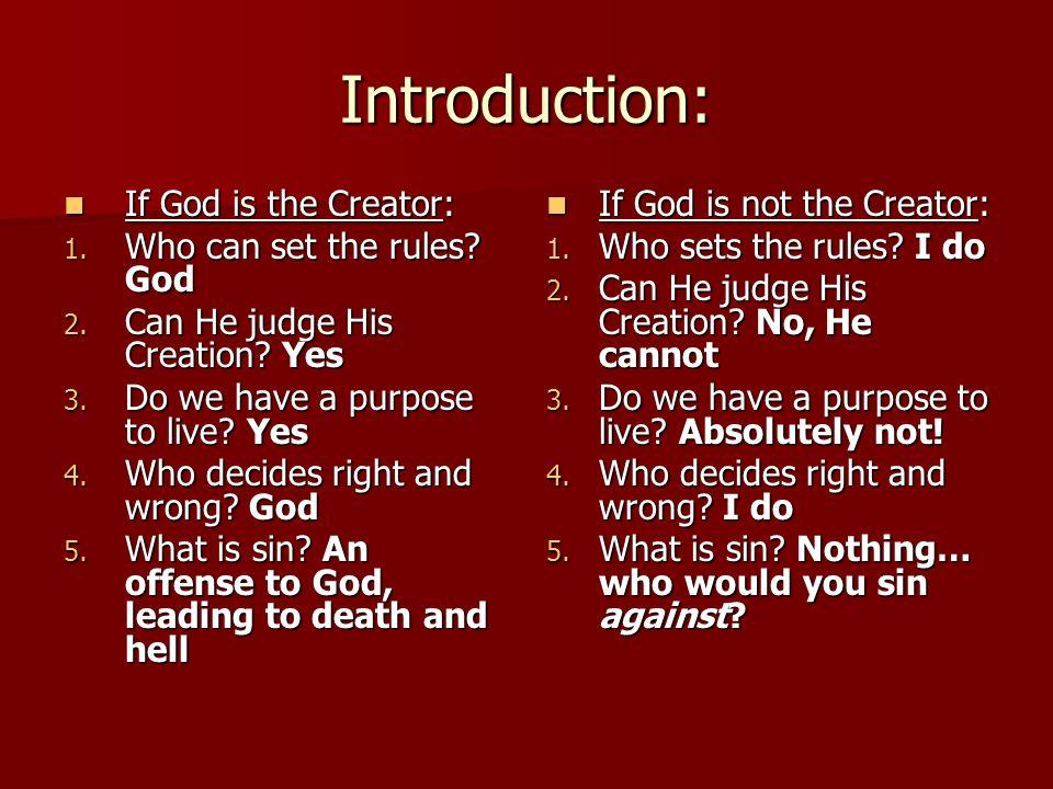 Introduction creator