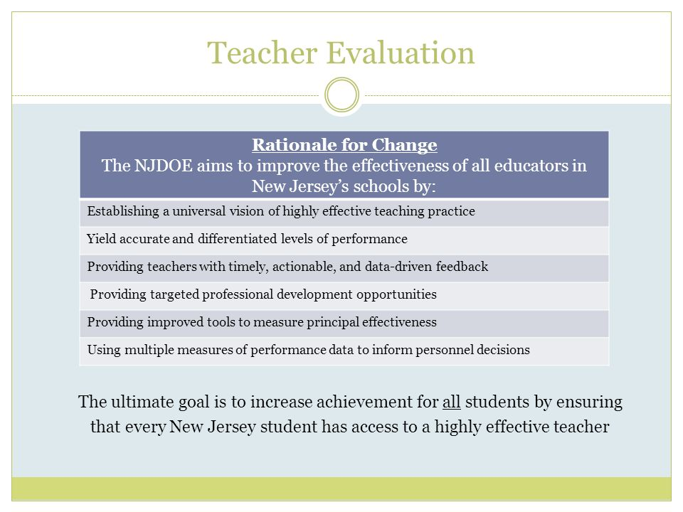 bergold week 5 teacher evaluation presentation