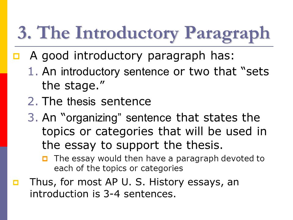 good opening sentences for essays