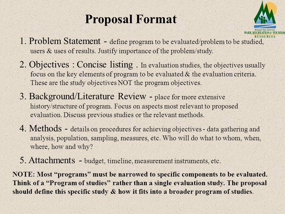Literature research proposal