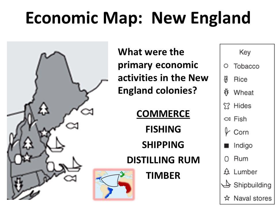 USHC 11 Summarize the distinct characteristics of each colonial
