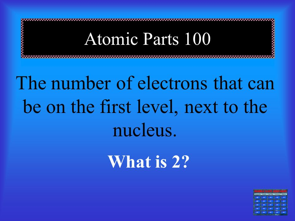 Definitions 500 An atom that is positively or negatively charged by adding or removing electrons.