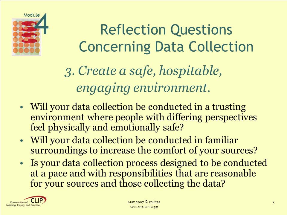 asnapp module2 reflection questions Step 3: self-evaluation methods and reflection exercises the self-evaluation/reflection process when reflection is carefully planned and structured, it can be a powerful tool to turn your service experience into a more meaningful learning experience.