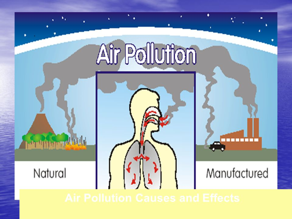 types of pollution and effects Causes and effects of environmental pollution: pollution occurs when the natural environment cannot destroy an element without creating harm or damage to itself.