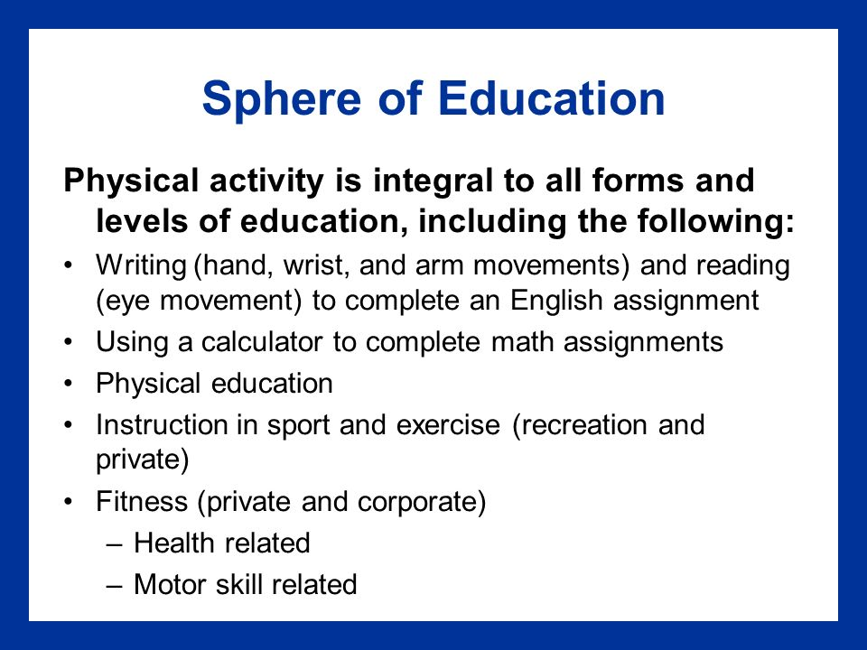 pe assignments