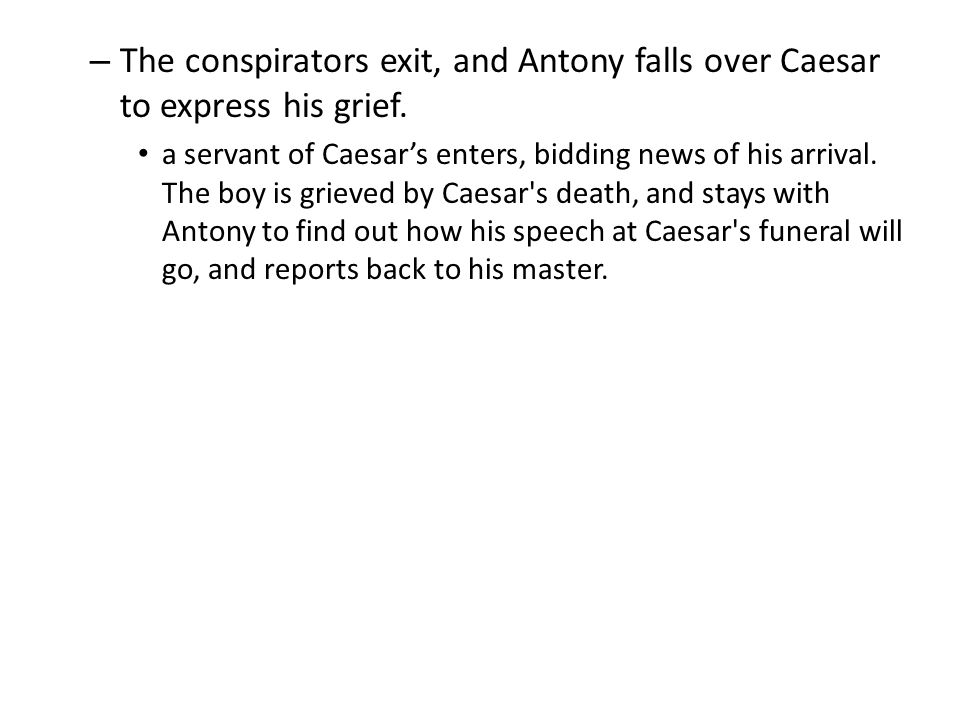 Were the conspirators justified in their actions against Caesar in the Tragedy Of Julius Caesar?
