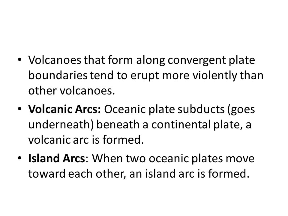 Lesson 7.1: Volcanoes and Plate Boundaries. Volcano What is a ...