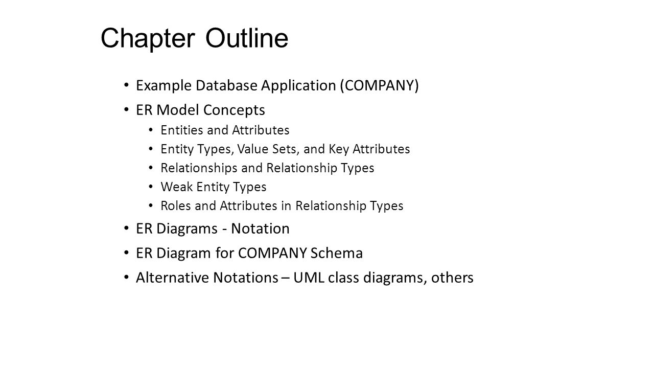 Data modeling using the entity relationship er model ppt download 2 chapter biocorpaavc