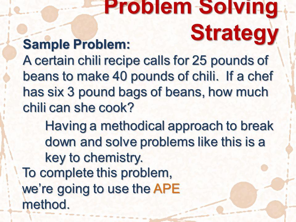 best university problem solving samples Problem Solving Skills