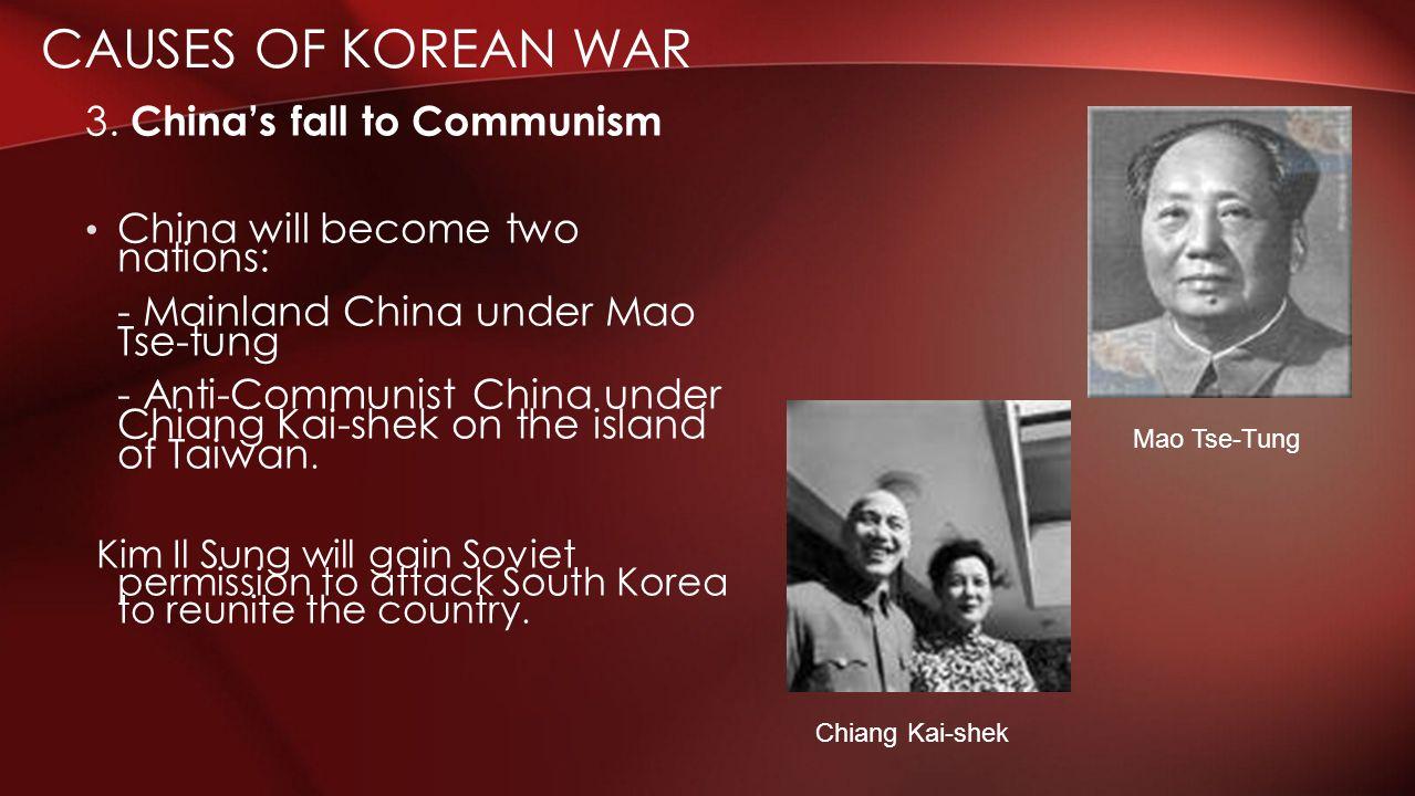 an analysis of the korean war against communism New topic when did america enter the korean war korean war strategic analysis of korean airline development of the korean film industry the development of korean.