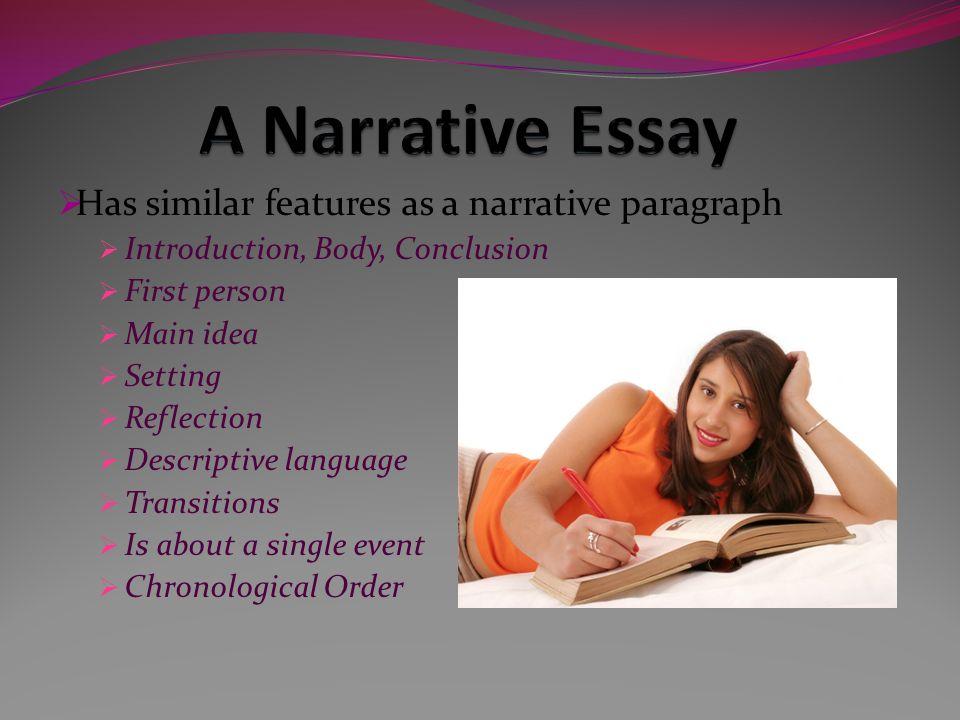 settings narrative essay