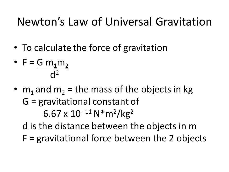 Law Of Gravitation Equation Jennarocca – Universal Law of Gravitation Worksheet