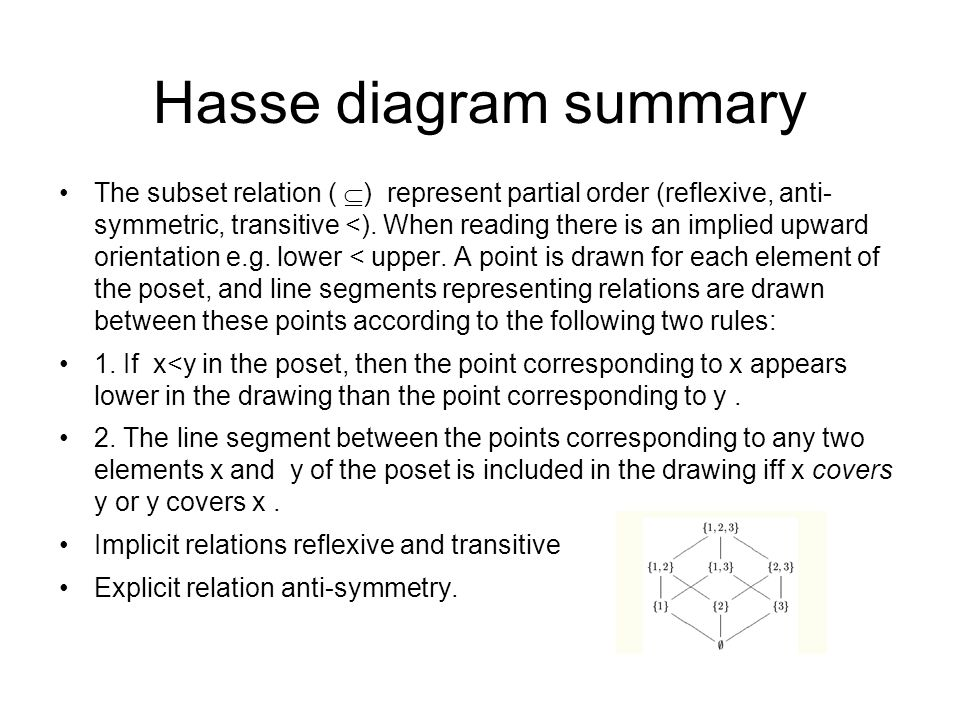 Computing fundamentals 2 lecture 4 lattice theory lecturer 21 hasse diagram ccuart Choice Image