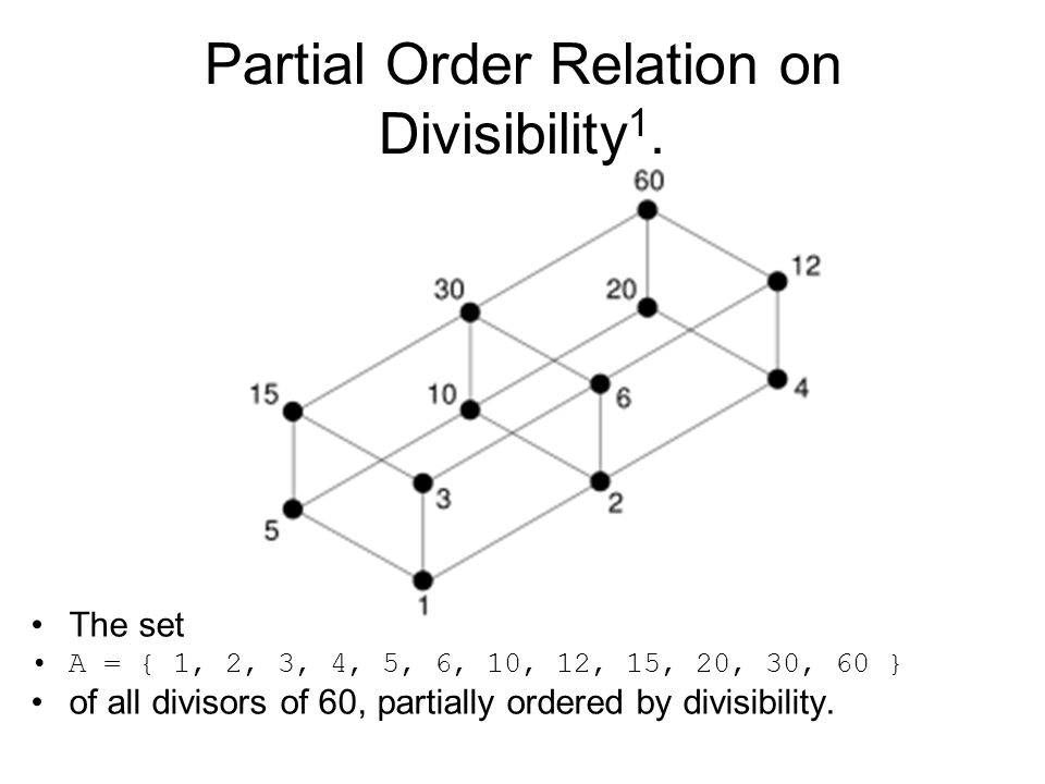Computing fundamentals 2 lecture 4 lattice theory lecturer patrick 45 partial ccuart Gallery