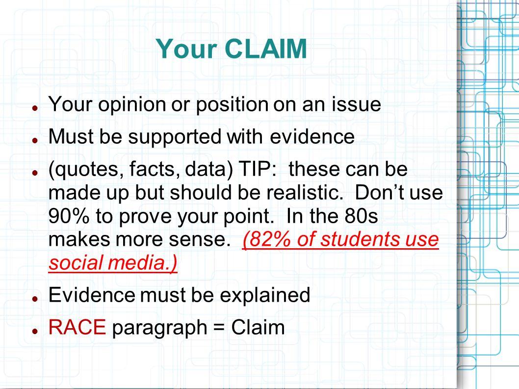 Argument Essay On Social Media