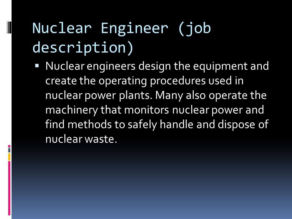 nuclear engineer jobs