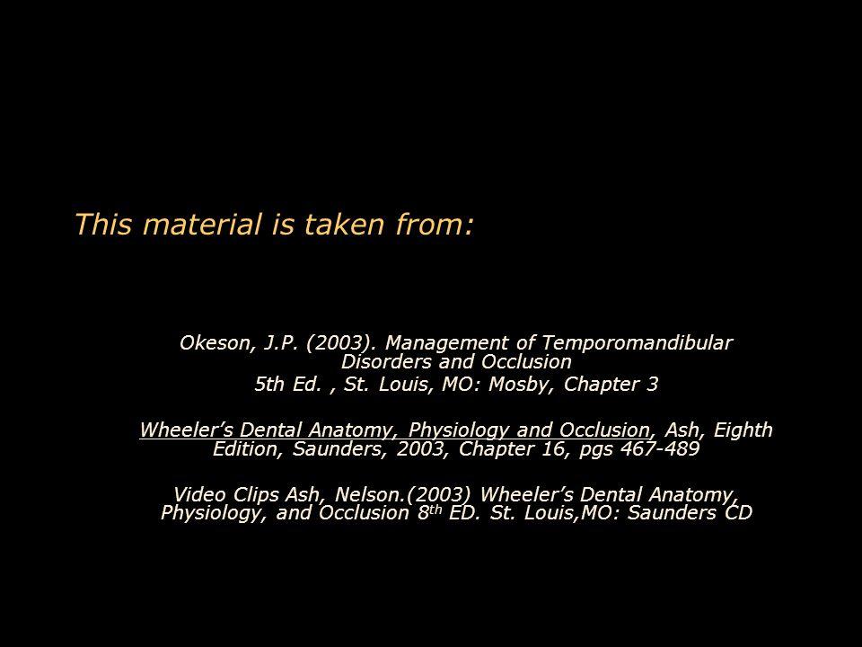 Awesome Dental Anatomy Wheelers Inspiration - Human Anatomy Images ...