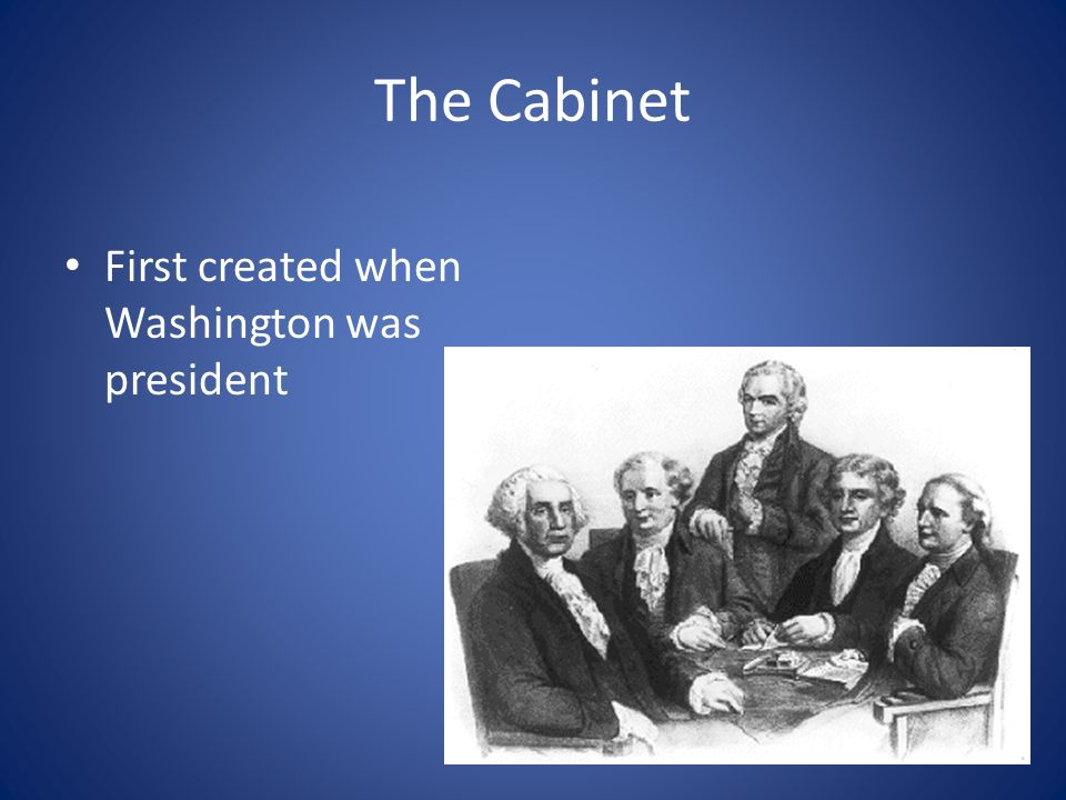 Essential Question How do cabinet members assist the president ...