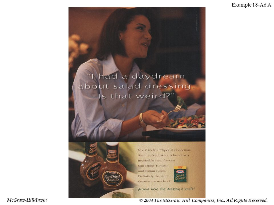 McGraw-Hill/Irwin © 2003 The McGraw-Hill Companies, Inc., All Rights Reserved. Example 18-Ad A