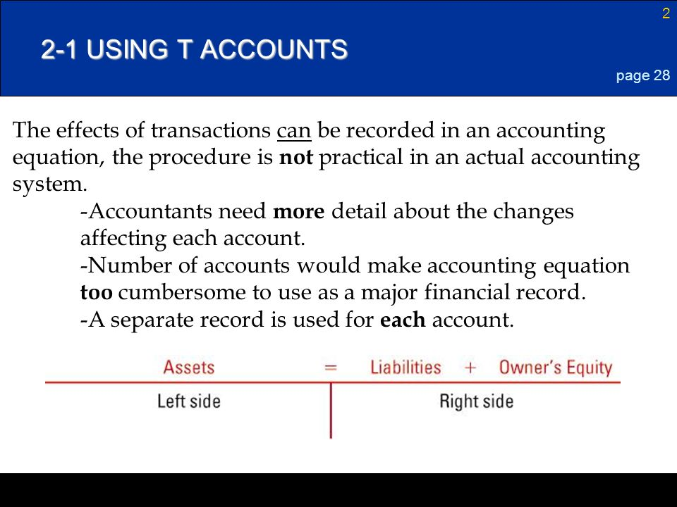 how to make t accounts