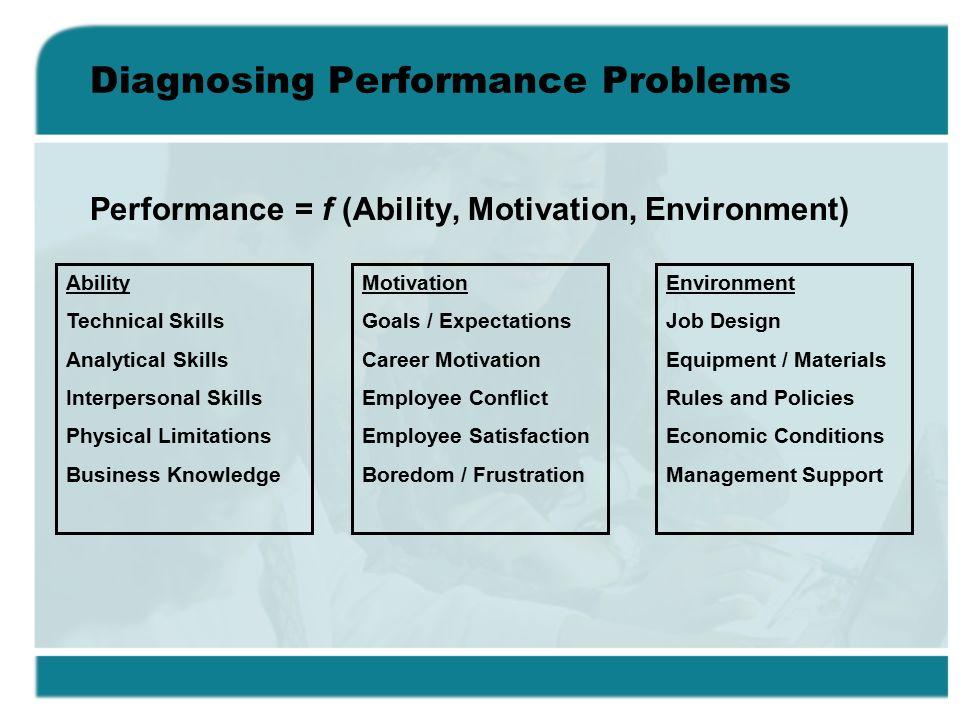 limitation in employee motivation and satisfactin