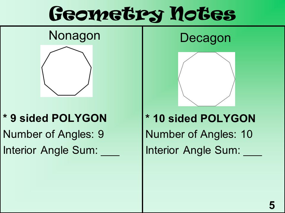 Ms Kings Little Book of Geometry Notes Period ppt download