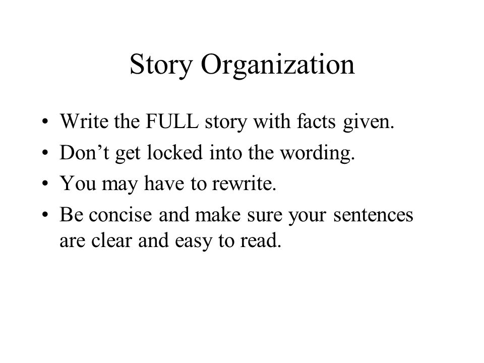 How to write to indicate a story within a story?