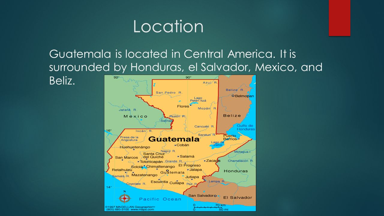 Guatemala Location Guatemala Is Located In Central America It Is - Where is guatemala located