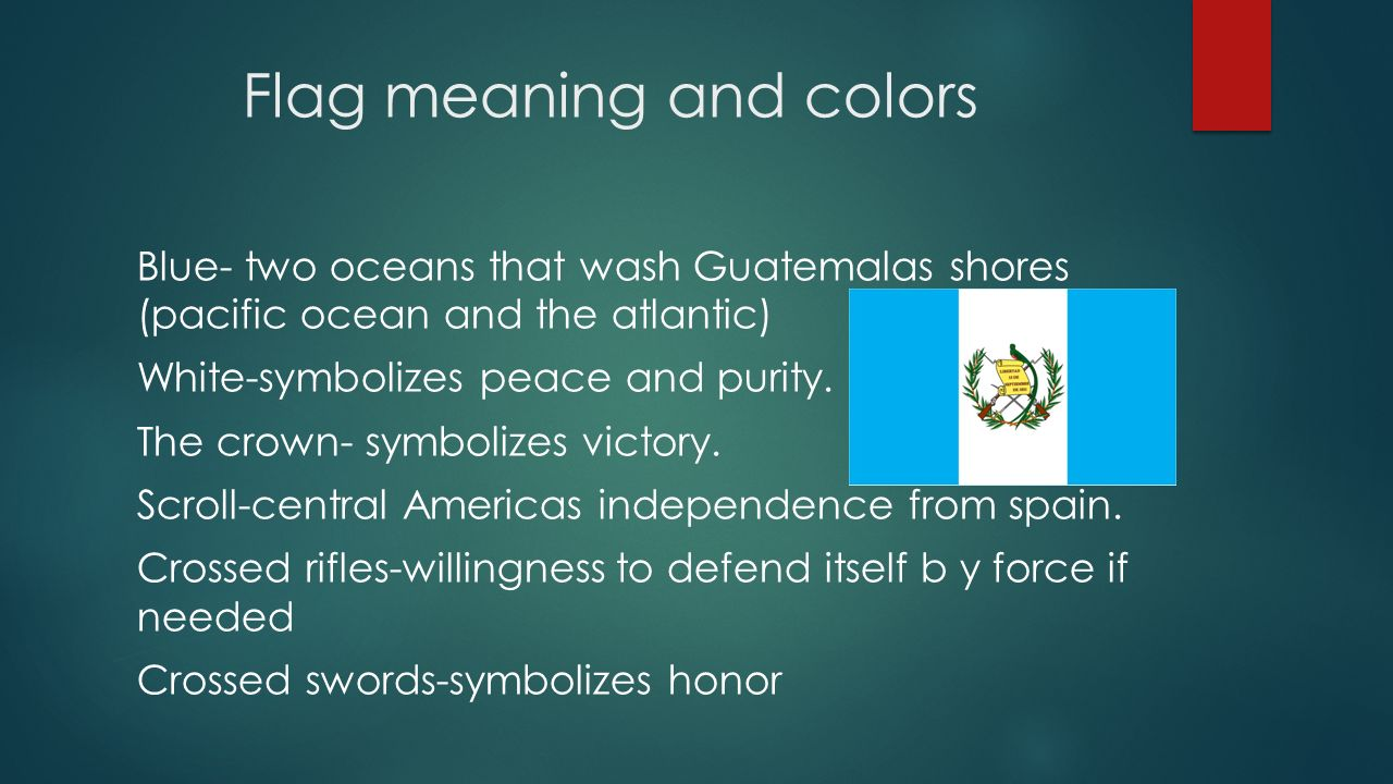 Guatemala location guatemala is located in central america it is 5 flag meaning and colors biocorpaavc Gallery