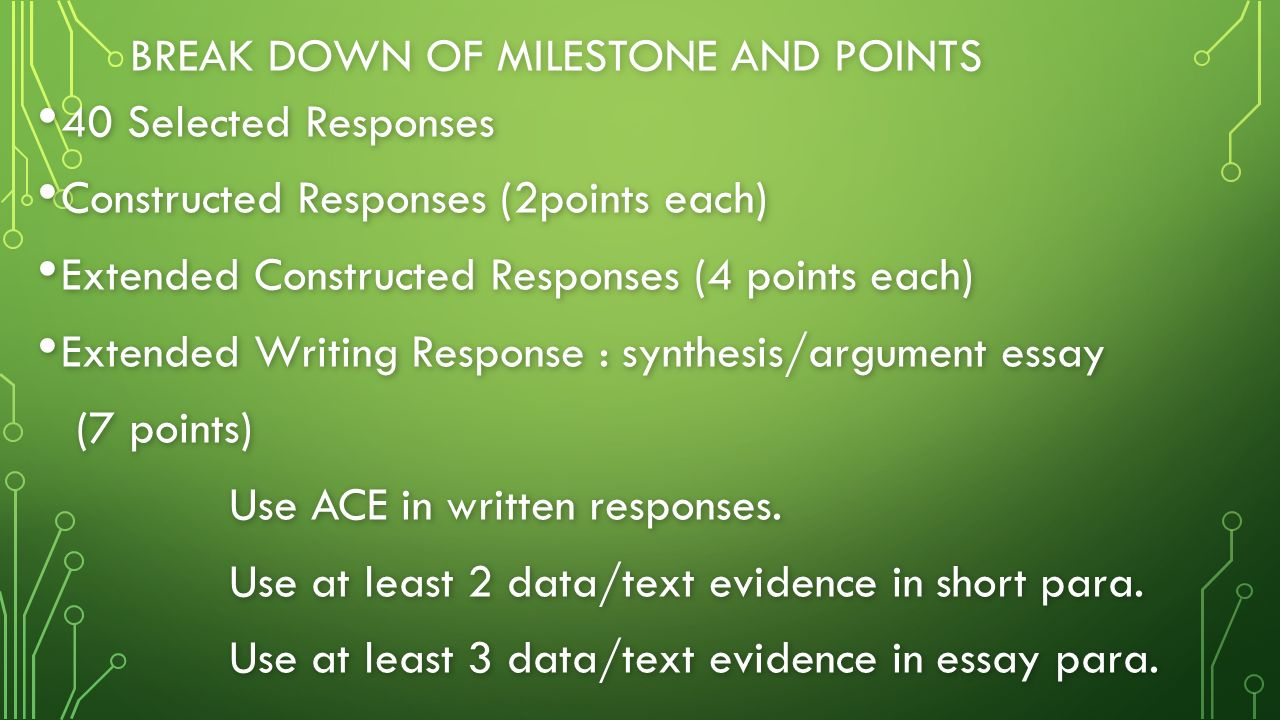 "essay responses Sample student essays sample 1 scores: 2 1 1 in ""let there be dark,"" paul bogard talks about the importance of darkness this response scored a 2/1/1."