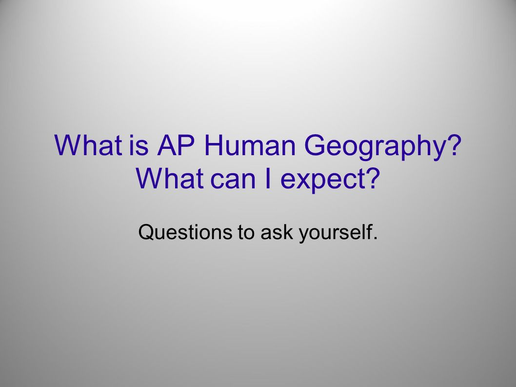 ap human geography test essay questions Be a thourough as possible and answer each question fully remember that this is intended to help you on the essay section of the ap exam ap human geography test.