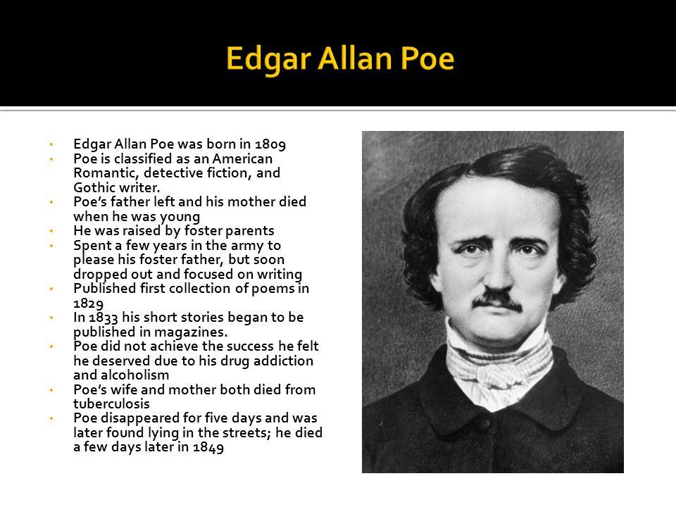 Why did Edgar Allen Poe write the Cask of Amontillado?