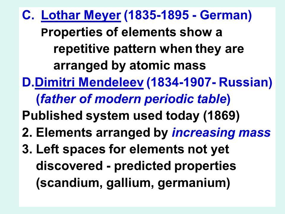 The periodic table ihistory iirangement of elements iiielectron 4 clothar urtaz Image collections