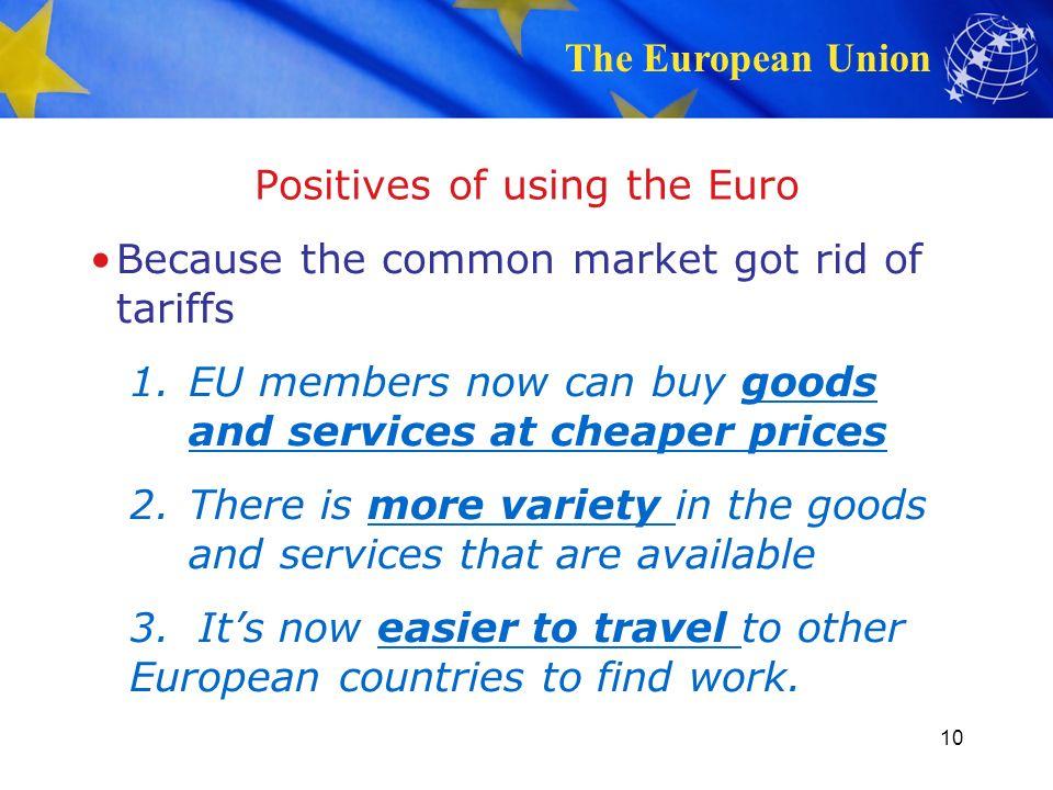 european union pros and cons essay Advantages and disadvantages of the european union occupytheory on 9 october  list of pros and cons of european union energy sources pros and cons list.