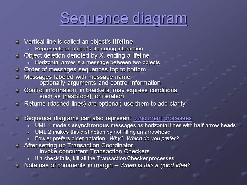 Unified modeling language uml for oo domain analysis cse432 prof 16 sequence ccuart Choice Image