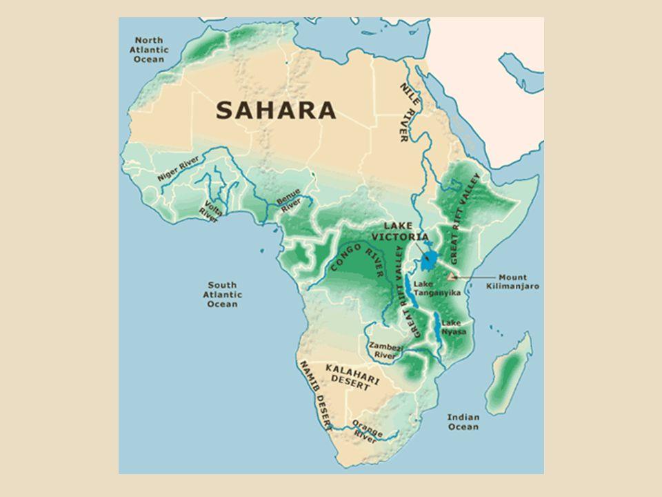 Africa Map Congo River%0A Africa Map Zambezi River SAHARA Niger River Nile River Congo River Zambezi  River KALAHARI Lake Victoria