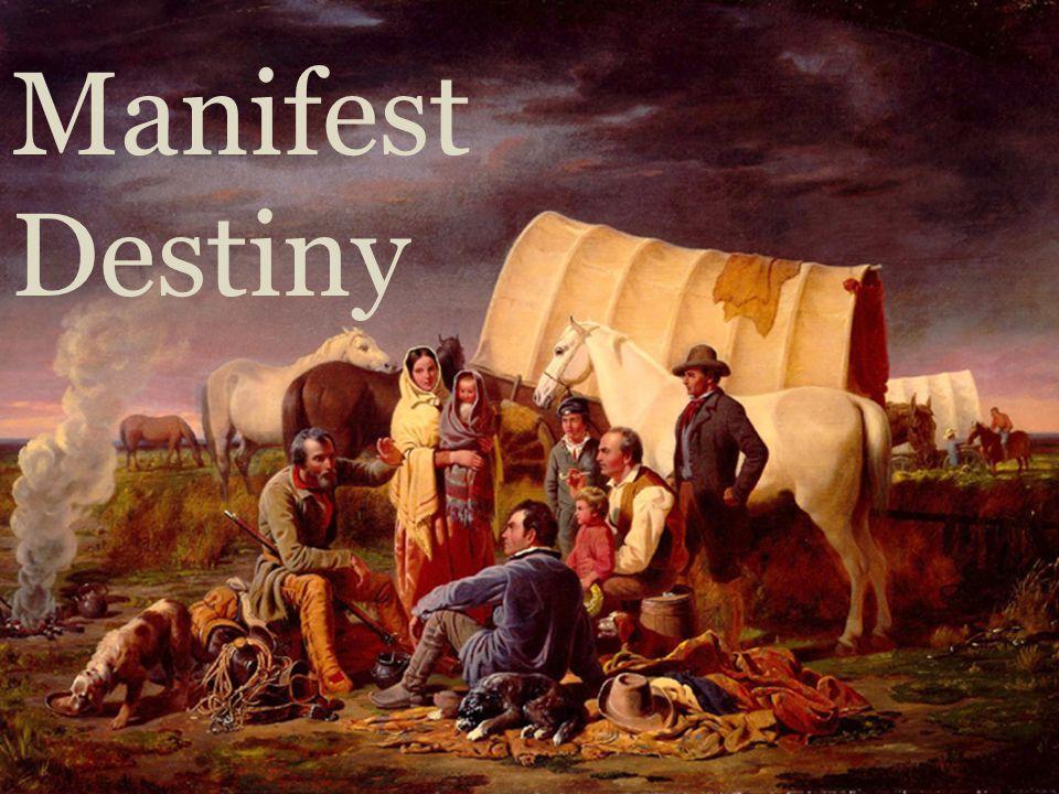 manifest destiny movement