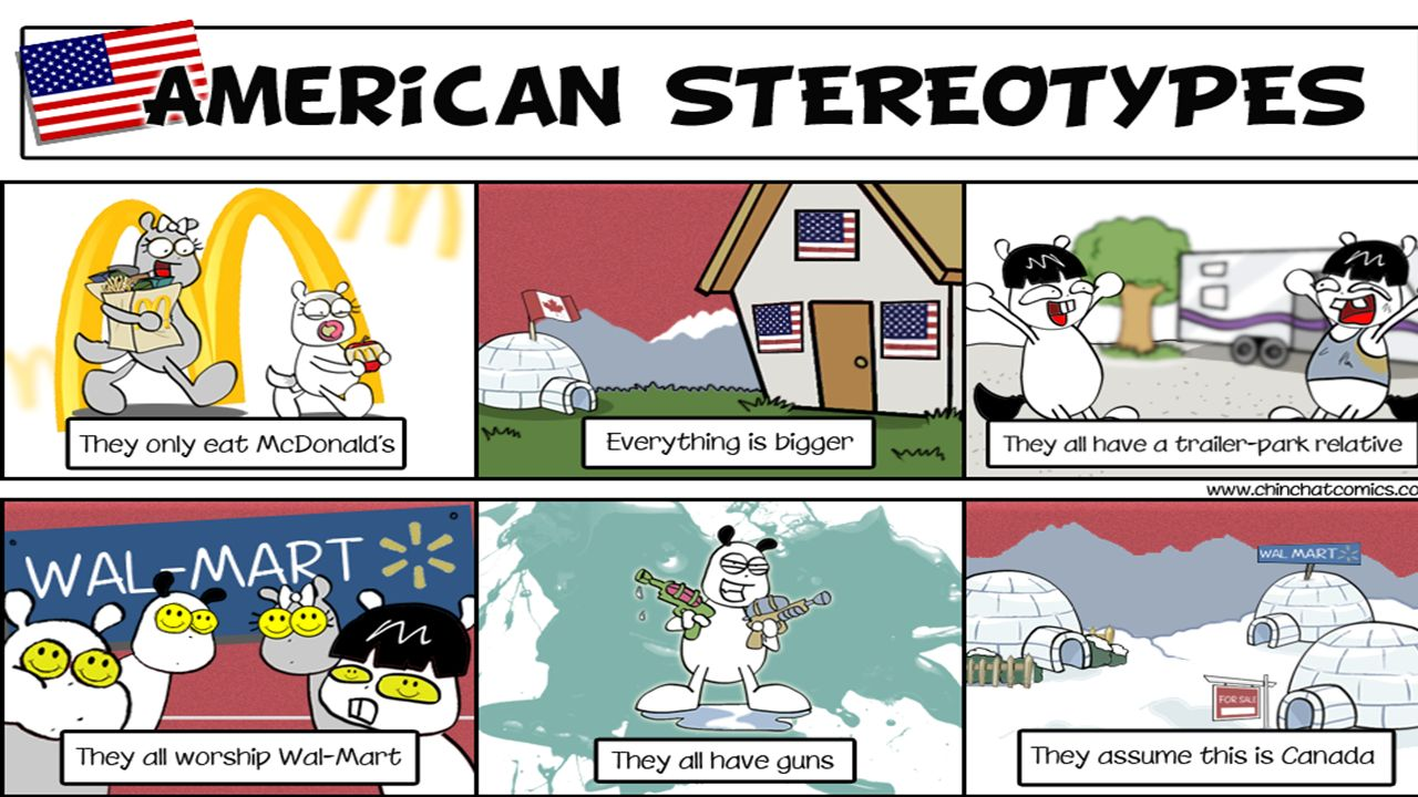 american stereotypes Free american stereotypes papers, essays, and research papers.