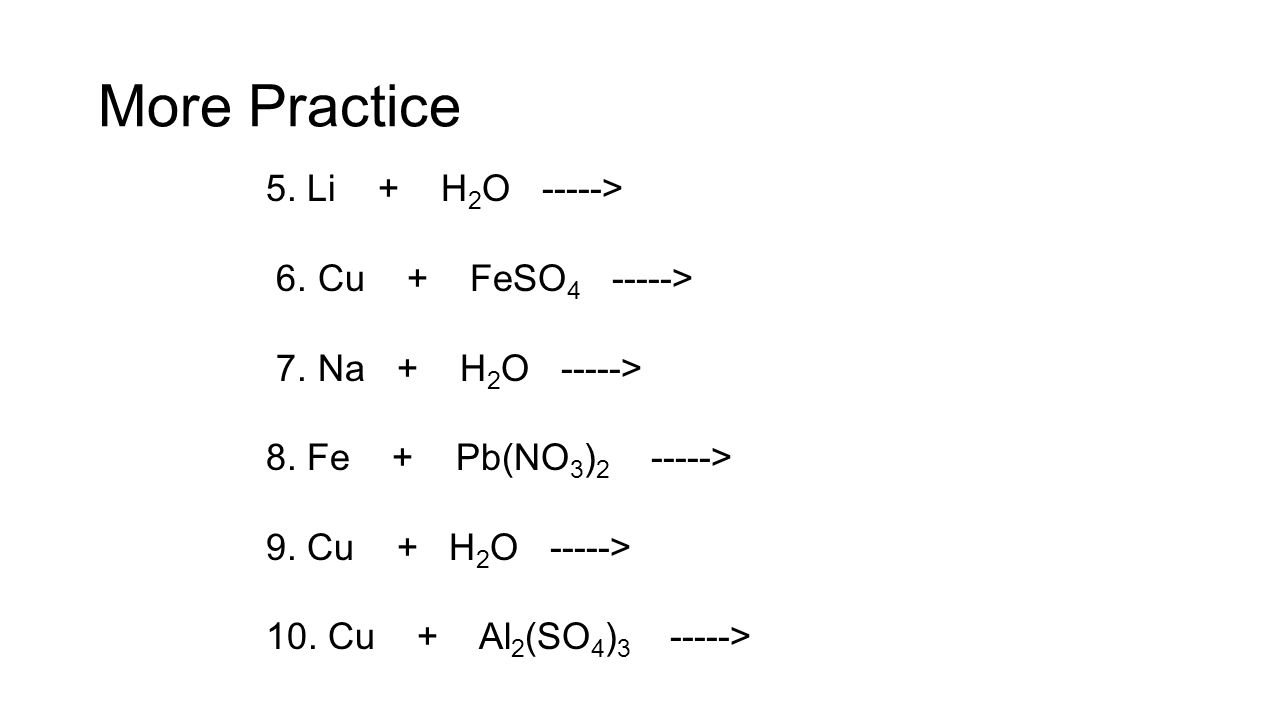 Chemical equations and reactions chapter 8 modern chemistry ppt 60 more gamestrikefo Gallery
