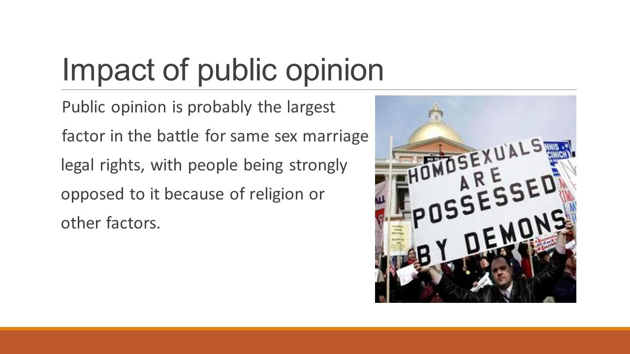 impact of public opinion on the Assessing public opinion polls building your own public opinion poll part one assessing public opinion polls public opinion polls in the united states appear to have become as american as apple pie, coca-cola, baseball, and our flag.