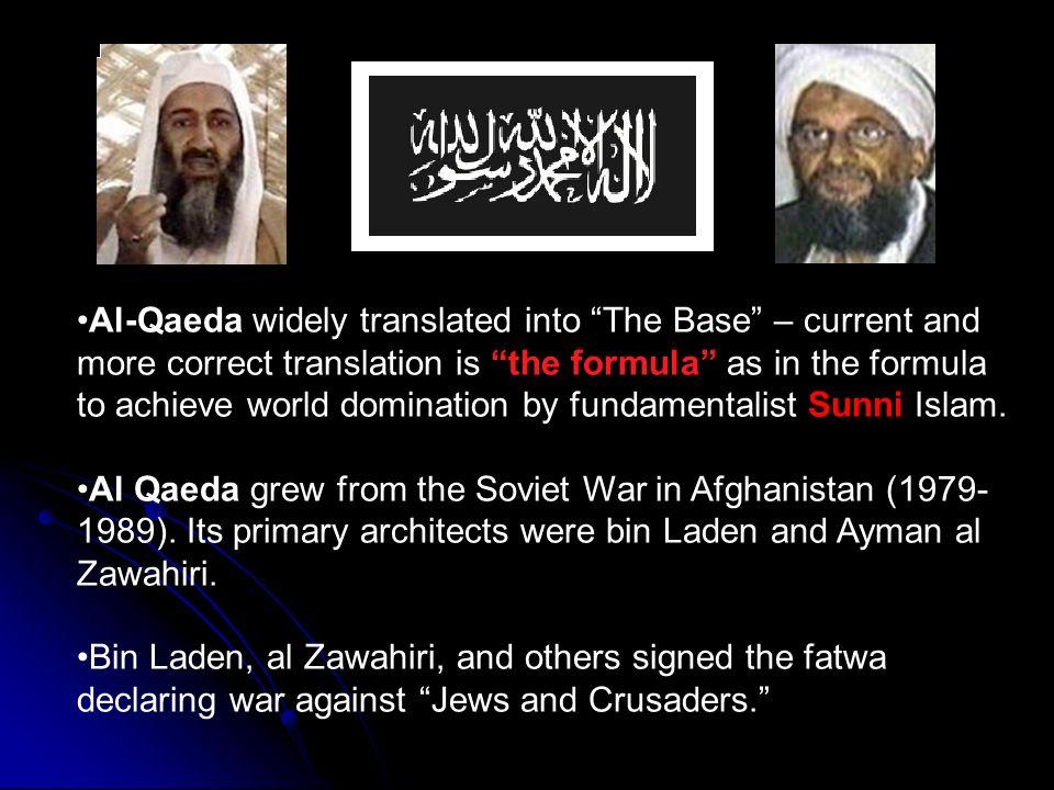 Al qaeda world domination