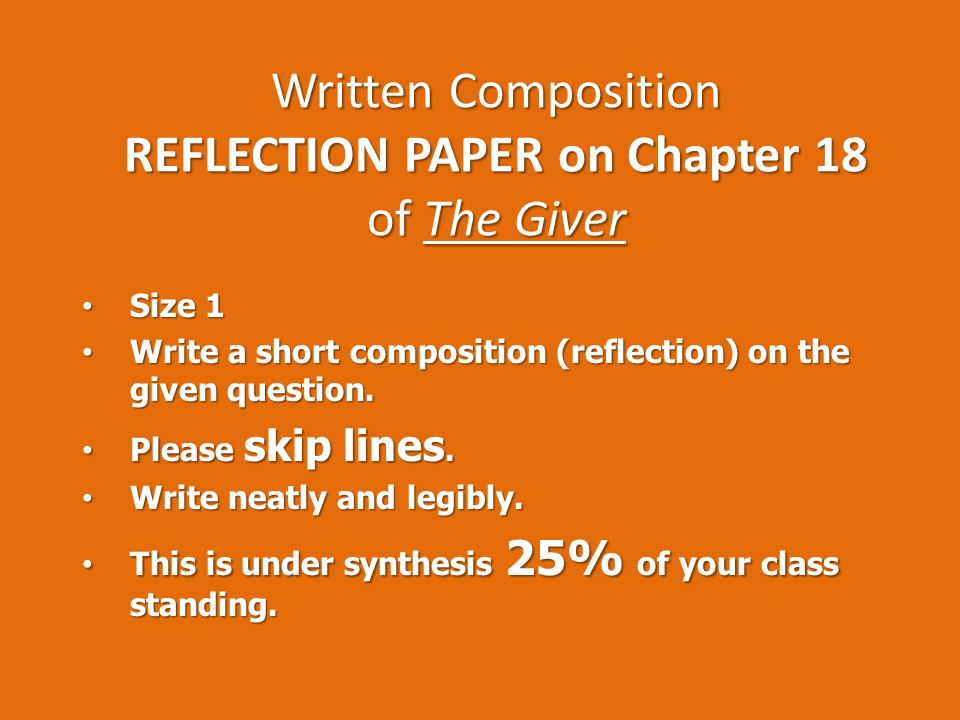 Essay Composition