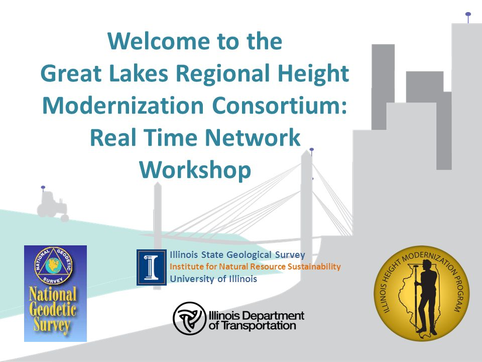 Welcome To The Great Lakes Regional Height Modernization - Illinois state geological survey