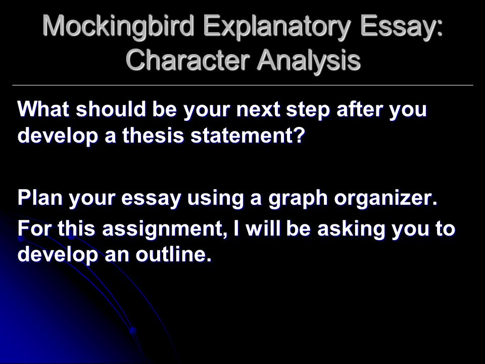 mocking bird essay