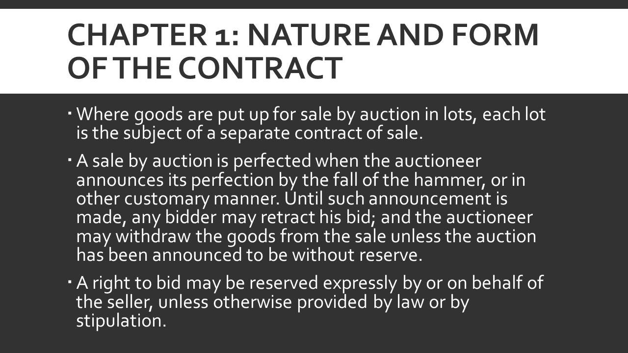 retraction bid form